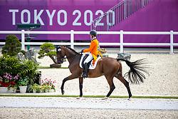 Blom Merel, NED, The Quizmaster, 251<br /> Olympic Games Tokyo 2021<br /> © Hippo Foto - Dirk Caremans<br /> 31/07/2021