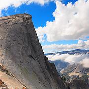 Half Dome North Saddle Edge Overlook - Yosemite