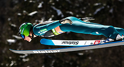 Domen Prevc (SLO) during the Qualification round of the Ski Flying Hill Individual Competition at Day 1 of FIS Ski Jumping World Cup Final 2019, on March 21, 2019 in Planica, Slovenia. Photo by Matic Ritonja / Sportida