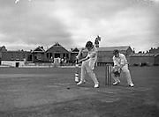 09/07/1952<br /> 07/09/1952<br /> 09 July 1952<br /> Munster v Leinster Schools Cricket at Rathmines, special for the Cork Examiner.