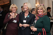 JO CHIN; EVE LOM; KRISTINA WALLEN, Natwest Everywoman awards reception. The Dorchester Hotel. London. 5 December 2012.