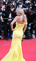 Luisana Lopilato at the On The Road gala screening red carpet at the 65th Cannes Film Festival France. The film is based on the book of the same name by beat writer Jack Kerouak and directed by Walter Salles. Wednesday 23rd May 2012 in Cannes Film Festival, France.