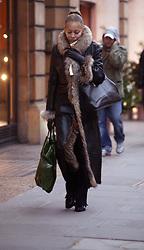 Dec 13, 2003; London,  , UK; Model ANGELA ERMAKOVA walking through central London. UK. (Credit Image: © SP033/ZBP/ZUMAPRESS.com)