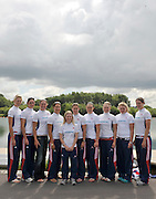 Reading, Great Britain, GBR W8+ group. 2011 GBRowing World Rowing Championship, Team Announcement.  GB Rowing  Caversham Training Centre.  Tuesday  19/07/2011  [Mandatory Credit. Peter Spurrier/Intersport Images] Jo Cook, Jessica Eddie, Alison Knowles, Lindsey Maguire, Natasha Page, Louisa Reeve, Katie Solesbury , Emily Taylor, Victoria Thornley, cox Caroline O'Connor