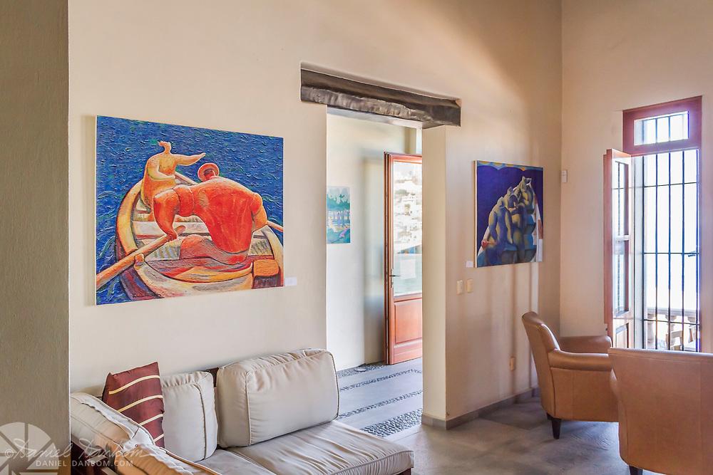 View from Casa Lucila boutique hotel, Olas Atlas No. 16, Centro, Mazatlan, Mexico