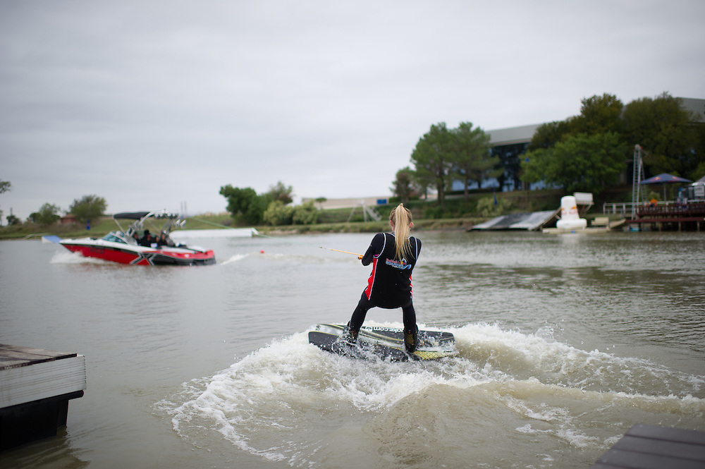 Participant Competes at Red Bull Boarder Wars in Fort Worth, Texas on October 6th, 2012
