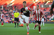 Manchester United Guillermo Varela during the Barclays U21 Premier League match between U21 Southampton and U21 Manchester United at the St Mary's Stadium, Southampton, England on 25 April 2016. Photo by Phil Duncan.