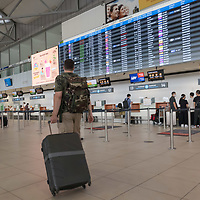 Budapest Airport is seen after flight route closures announced on the last day before COVID-19 border restrictions are reintroduced in Budapest, Hungary on Aug. 31, 2020. ATTILA VOLGYI