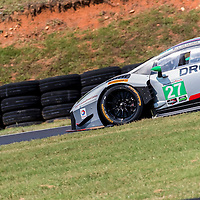 Alton, VA - Aug 26, 2016:  The Dream Racing Lamborghini Huracan GT3 races through the turns at the Michelin GT Challenge at VIR at Virginia International Raceway in Alton, VA.