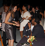 **EXCLUSIVE**.Rosario Dawson and Pras Michel..Pras Michel of The Fugees Honoring The First Ladies of Africa at a Cocktail Reception in partnership US Doctors For AFRICA..WP Wolfgang Puck Restaurant..Pacific Design Center..West Hollywood, CA, USA..Monday, April 20, 2009..Photo By Jennifer Smulin/Celebrityvibe.com.To license this image please call (212) 410 5354; or Email: celebrityvibe@gmail.com ; .website: www.celebrityvibe.com.