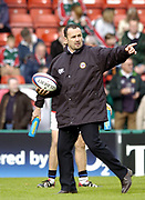 Leicester, England UK., 9th October 2004,  Zurich Premiership Rugby, Leicester Tigers vs Bath Rugby, Welford Road,<br /> [Mandatory Credit: Peter Spurrier/Intersport Images],<br /> Bath coach John Connelly
