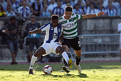 May 25, 2019 - Oeiras, Portugal - OEIRAS, PORTUGAL - MAY 25: Sporting's forward Marcos Acuna from Argentina vies with Porto's defender Manafa during the Portugal Cup Final football match Sporting CP vs FC Porto at Jamor stadium, on May 25, 2019, in Oeiras, outskirts of Lisbon, Portugal. (Credit Image: © Pedro Fiuza/NurPhoto via ZUMA Press)