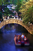 Image of the River Walk in San Antonio, Texas, American Southwest by Randy Wells