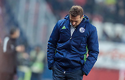 08.12.2016, Red Bull Arena, Salzburg, AUT, UEFA EL, FC Red Bull Salzburg vs Schalke 04, Gruppe I, im Bild Trainer Markus Weinzierl (FC Schalke 04) // during the UEFA Europa League group I match between FC Red Bull Salzburg and Schalke 04 at the Red Bull Arena in Salzburg, Austria on 2016/12/08. EXPA Pictures © 2016, PhotoCredit: EXPA/ JFK