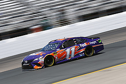 July 20, 2018 - Loudon, New Hampshire, United States of America - Denny Hamlin (11) takes to the track to practice for the Foxwoods Resort Casino 301 at New Hampshire Motor Speedway in Loudon, New Hampshire. (Credit Image: © Justin R. Noe Asp Inc/ASP via ZUMA Wire)