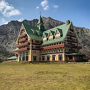 Prince of Wales Hotel, Waterton Lakes National Park, Alberta, Canada.