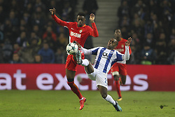December 6, 2017 - Porto, Porto, Portugal - Adama Diakhaby forward of AS Monaco FC (L) with Porto's Portuguese defender Ricardo Pereira (R) during the UEFA Champions League Group G match between FC Porto and AS Monaco FC at Dragao Stadium on December 6, 2017 in Porto, Portugal. (Credit Image: © Dpi/NurPhoto via ZUMA Press)