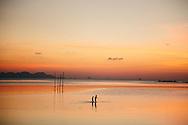 Laem Sor, Thong Krut beach, Koh Samui, Thailand sunset