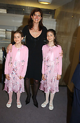 PRINCESS DIMITRI LOBANOV-ROSTOVSKY and her daughters Left SOPHIA and right TATIANNA at a performance by the London Childrens Ballet of 'The Little Princess' at The Peacock Theatre, Portugal Street, London WC2 on 19th May 2005.<br /><br />NON EXCLUSIVE - WORLD RIGHTS