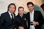 TONY CHAMBERS, Wallpaper* Design Awards. Wilkinson Gallery, 50-58 Vyner Street, London E2, 14 January 2010 *** Local Caption *** -DO NOT ARCHIVE-© Copyright Photograph by Dafydd Jones. 248 Clapham Rd. London SW9 0PZ. Tel 0207 820 0771. www.dafjones.com.<br /> TONY CHAMBERS, Wallpaper* Design Awards. Wilkinson Gallery, 50-58 Vyner Street, London E2, 14 January 2010