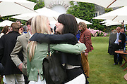 LADY ALEXANDRA GORDON-LENNOX AND KATIE TURNER, Cartier Style et Luxe lunch. Goodwood.  24 June 2007.  -DO NOT ARCHIVE-© Copyright Photograph by Dafydd Jones. 248 Clapham Rd. London SW9 0PZ. Tel 0207 820 0771. www.dafjones.com.