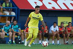 July 17, 2018 - Villareal, Castellon, Spain - Leo Suarez of Villarreal CF during the friendly match between Villarreal CF and Hercules at Ciudad Deportiva of Miralcamp on July 17, 2018 in Vila-real, Spain  (Credit Image: © Maria Jose Segovia/NurPhoto via ZUMA Press)