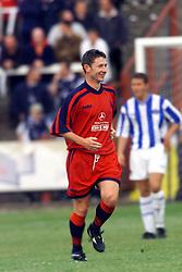 Falkirk's Kevin McAllister during a Falkirk v Kilmarnock game in July 2000. .