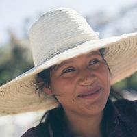 Dinora Aguilar, 22, plant manager at a COMSA organic Fairtrade coffee farm