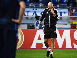 September 20, 2018 - Genk, Belgien - 180920 Head coach Uwe Rösler looks dejected after the Europa League group stage match between Genk and Malmö FF on September 20, 2018 in Genk..Photo: Ludvig Thunman / BILDBYRÃ…N / kod LT / 35538 (Credit Image: © Ludvig Thunman/Bildbyran via ZUMA Press)