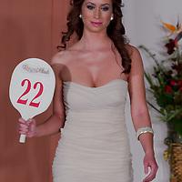 Anita Greta Cserven participates the Miss Hungary beauty contest held in Budapest, Hungary on December 29, 2011. ATTILA VOLGYI