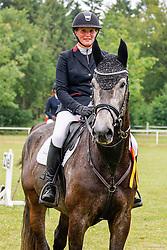 02, Springpferde Prfg. Kl. A**,Kellinghusen - Reittunier 26. - 27.06.2021, Janet Maas (GER), All In 19,