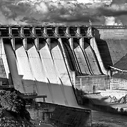 Folsom Dam Spring of 2009