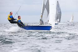, Kiel - SAP 505er World Championship 2014, 505er, GER 8875, Jens FINDEL, Johannes TELLEN, Kieler Yacht-Club e. V