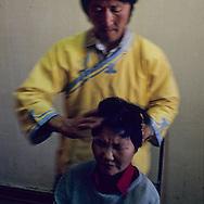 Mongolia. Ulaanbaatar. massage and traditional medecine  / massage et medecine traditionnelle OulanBator   / 196    L921012d  /  P0002817