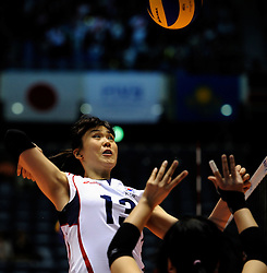 07-11-2010 VOLLEYBAL: WORLD CHAMPIONSHIP: PERU - KOREA: TOKYO<br /> Korea beat Peru with 3-1 / Dae-Young Jung<br /> ©2010-WWW.FOTOHOOGENDOORN.NL