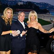 MON/Monte Carlo/20100512 - World Music Awards 2010, designer Tommy Hilfiger, partner Dee en Melissa Corkens