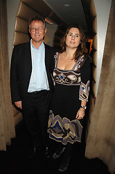ALEXANDRA SHULMAN and DAVID JENKINS at a party to celebrate the launch of the Kova & T fashion label and to re-launch the Harvey Nichols Fifth Floor Bar, held at harvey Nichols, Knightsbridge, London on 22nd November 2007.<br /><br />NON EXCLUSIVE - WORLD RIGHTS