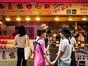 10 JUNE 2018 - SEOUL, SOUTH KOREA: A food shop in an alley off of Myeong-dong.    PHOTO BY JACK KURTZ