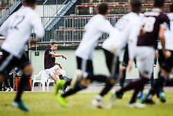 Erik Gliha of NK Triglav during the football match between NK Triglav Kranj and NS Mura in 23rd Round of Prva liga Telekom Slovenije 2019/20, on March 1, 2020 in Športni park Kranj, Kranj, Slovenia. Photo By Grega Valancic / Sportida