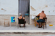 Dailylife in San Giorgio neighbourhood in Bari on 4 July 2019. Christian Mantuano / OneShot