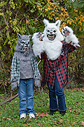 Bid Bad Wolves.  Trick or treaters in Bynum, NC.