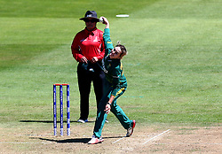 Dane van Niekerk of South Africa Women bowls - Mandatory by-line: Robbie Stephenson/JMP - 05/07/2017 - CRICKET - County Ground - Bristol, United Kingdom - England Women v South Africa Women - ICC Women's World Cup Group Stage