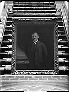 10/10/1953<br /> 10 October 1953 <br /> Arthur Griffith - copy picture of Death Mask at Leinster House