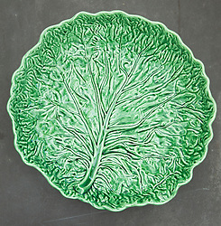 Green cabbage bowl