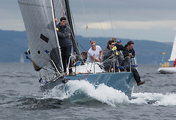 Day one of the Silvers Marine Scottish Series 2016, the largest sailing event in Scotland organised by the  Clyde Cruising Club<br /> Racing on Loch Fyne from 27th-30th May 2016<br /> GBR7737R, Aurora, Rod Stuart / A Ram, CCC, Corby 37<br /> <br /> <br /> Credit : Marc Turner / CCC<br /> For further information contact<br /> Iain Hurrel<br /> Mobile : 07766 116451<br /> Email : info@marine.blast.com<br /> <br /> For a full list of Silvers Marine Scottish Series sponsors visit http://www.clyde.org/scottish-series/sponsors/