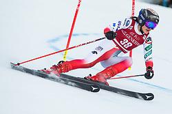 Asa Ando (JPN) during the Ladies' Giant Slalom at 57th Golden Fox event at Audi FIS Ski World Cup 2020/21, on January 16, 2021 in Podkoren, Kranjska Gora, Slovenia. Photo by Vid Ponikvar