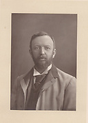 Henry Arthur Jones (1851-1929) English dramatist.  From 'The Cabinet Portrait Gallery' (London, 1890-1894).  Woodburytype after photograph by W & D Downey.