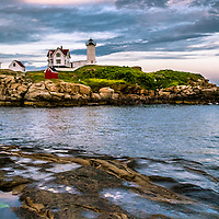 The Nubble Lighthouse in Maine is the most photographed lighthouse in America.<br /> <br /> All Content is Copyright of Kathie Fife Photography. Downloading, copying and using images without permission is a violation of Copyright.