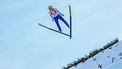 29.01.2017, Casino Arena, Seefeld, AUT, FIS Weltcup Nordische Kombination, Seefeld Triple, Skisprung, im Bild Mario Seidl (AUT) // Mario Seidl of Austria in action during his Competition Jump of Skijumping of the FIS Nordic Combined World Cup Seefeld Triple at the Casino Arena in Seefeld, Austria on 2017/01/29. EXPA Pictures © 2017, PhotoCredit: EXPA/ JFK