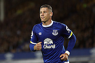 Ross Barkley of Everton looks on. Premier league match, Everton v Crystal Palace at Goodison Park in Liverpool, Merseyside on Friday 30th September 2016.<br /> pic by Chris Stading, Andrew Orchard sports photography.